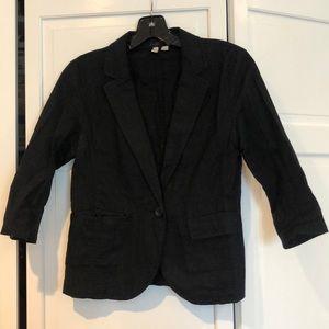Black cloth blazer